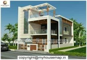 latest modern house elevation design