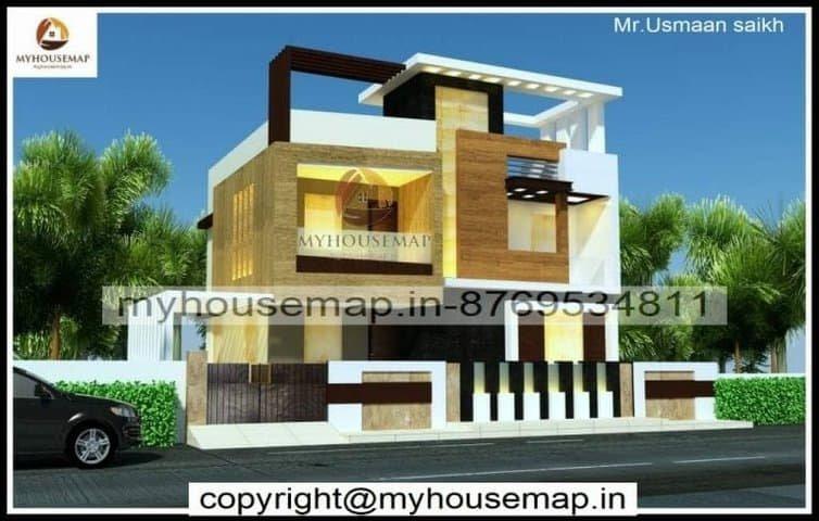 modern house new elevation