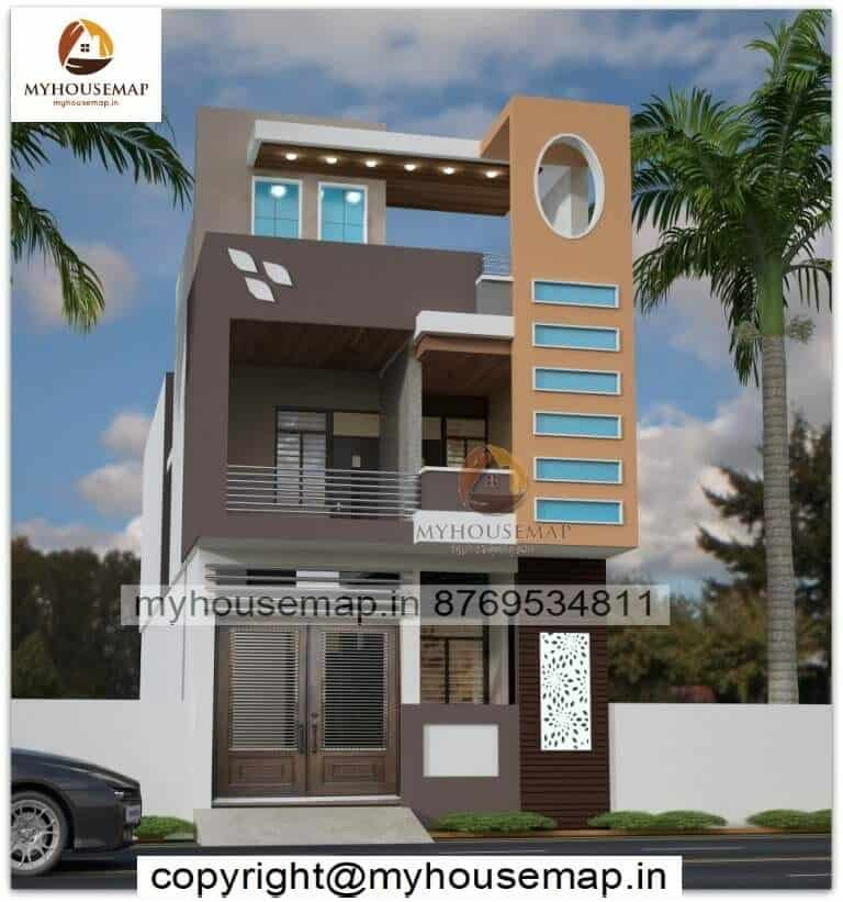 normal house modern front elevation