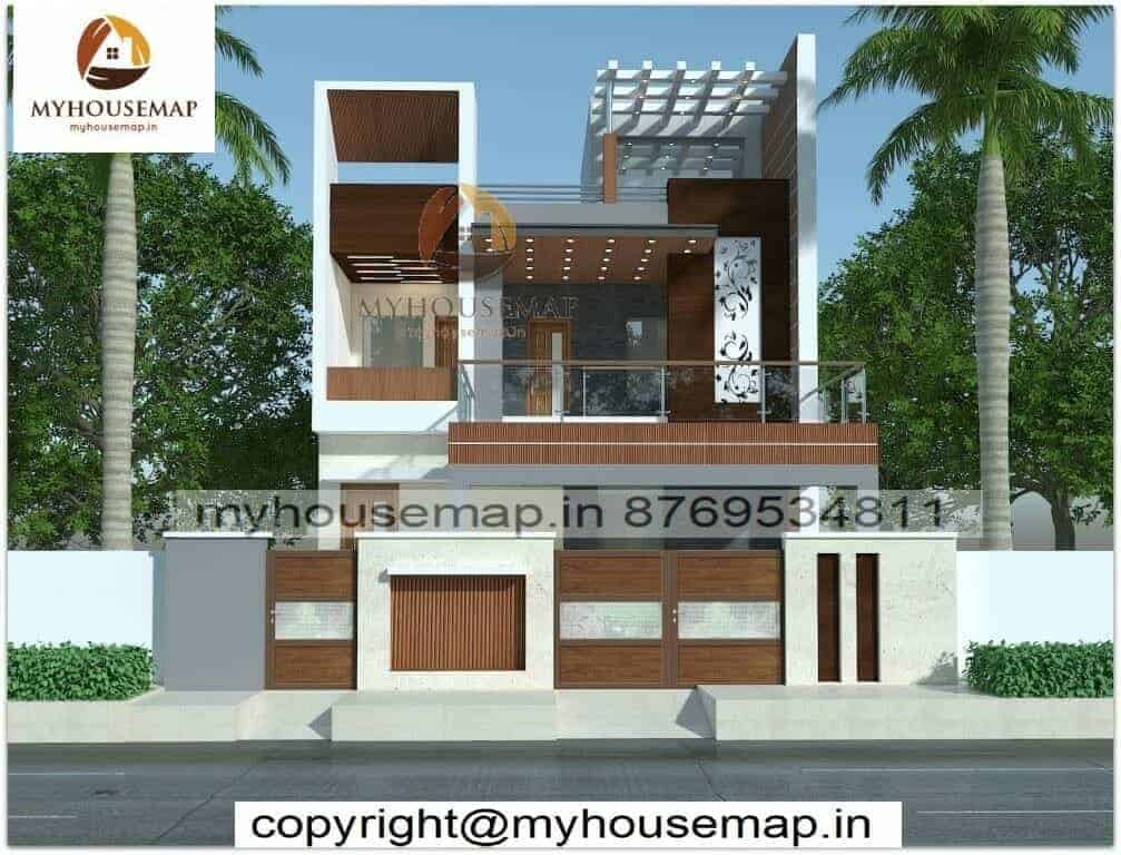 double floor home design images