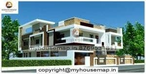 duplex exterior design for house
