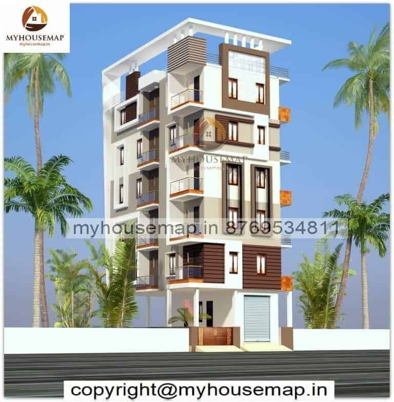 front building elevation modern design