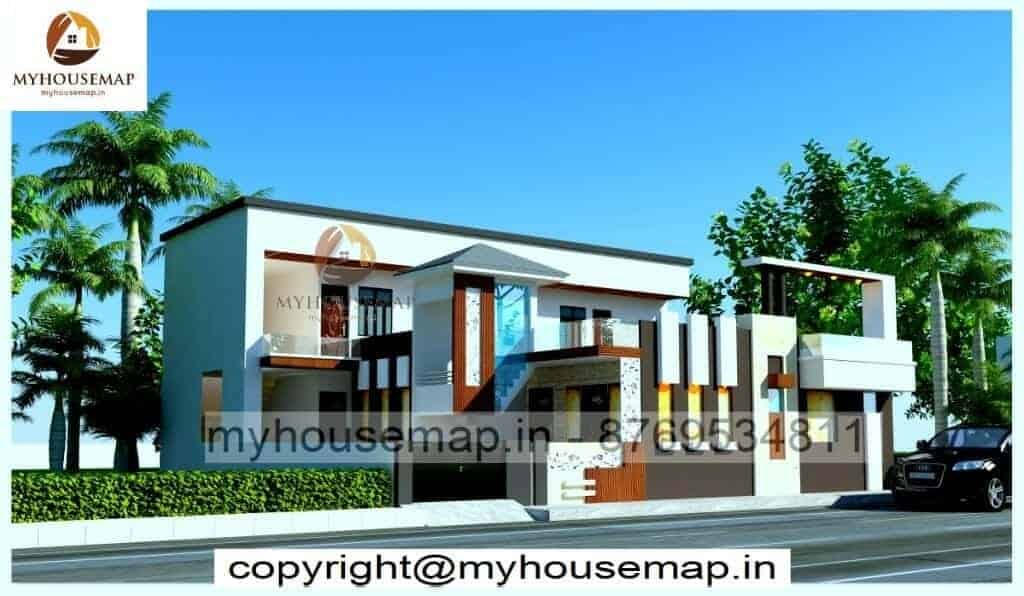 front house design kerala style