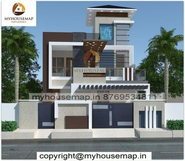 modern home elevation designs
