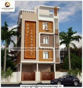 simple front house design