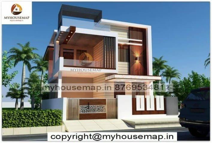 simple home exterior design