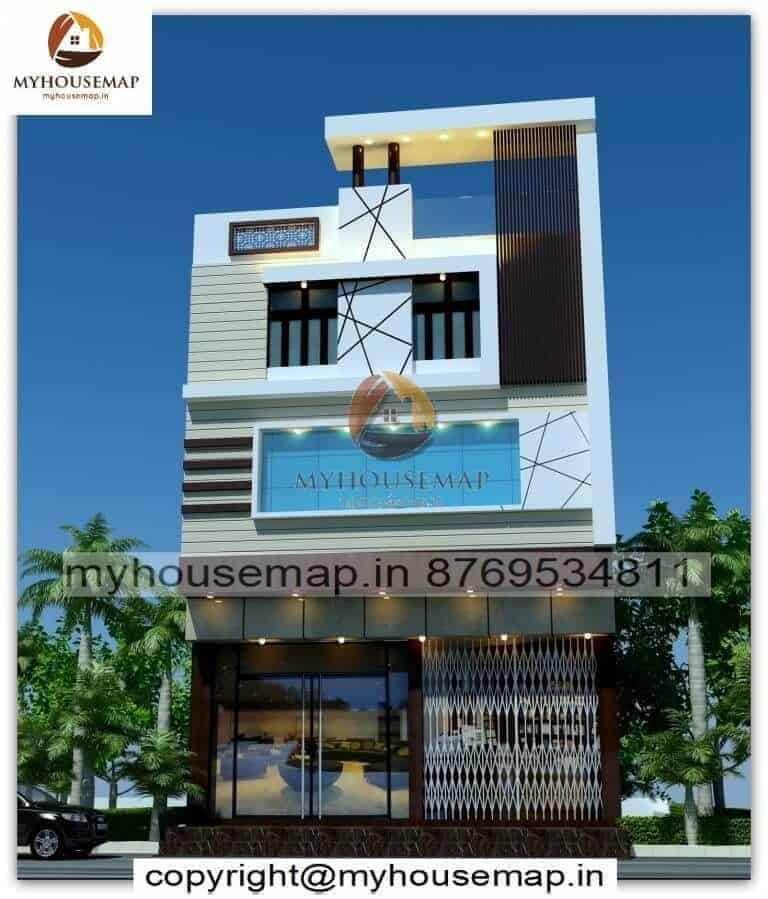 3 floor latest exterior design