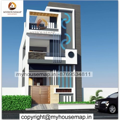 Simple home elevation duplex